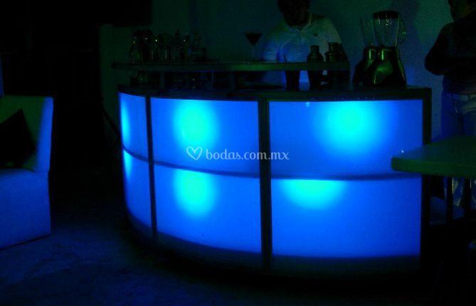 Iluminación bar