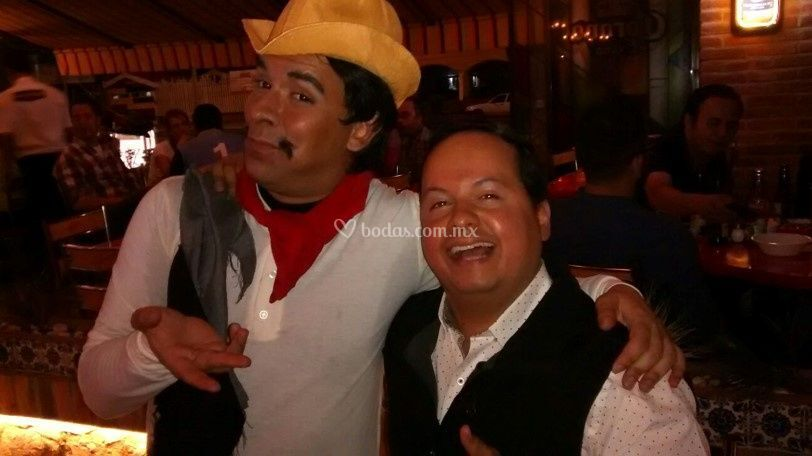 Imitador de Cantinflas