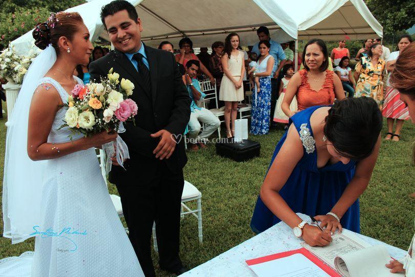 En la ceremonia