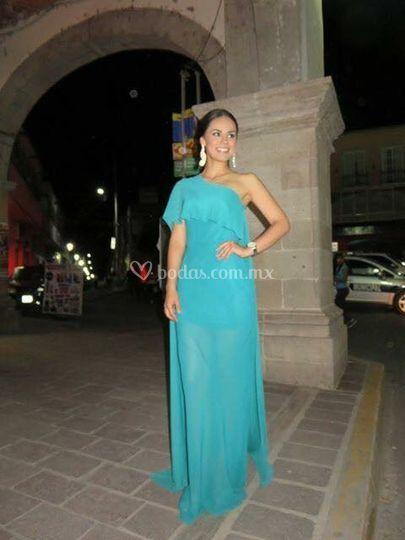 Vestidos de noche condesa df