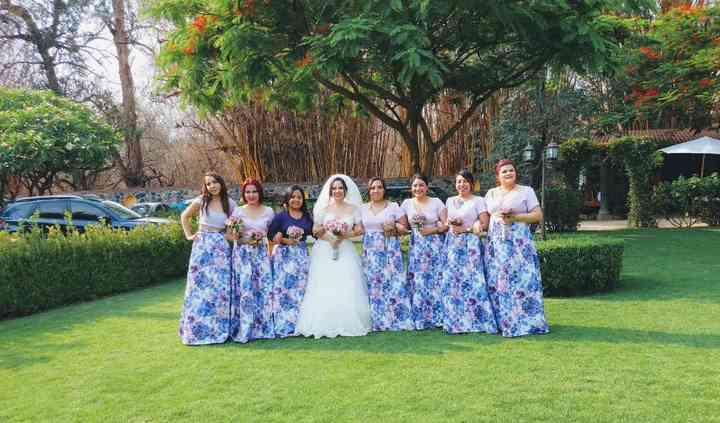 Curielle bridesmaids