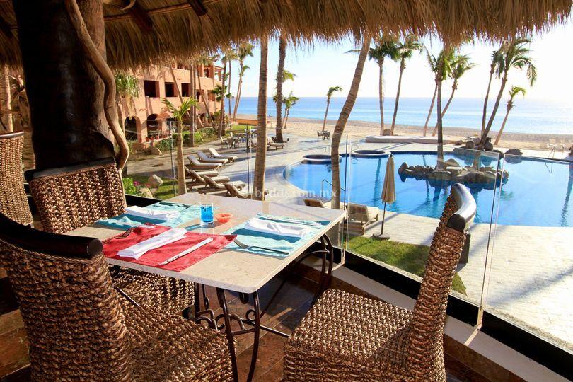 Restaurante de Hotel Bel Air Cabos
