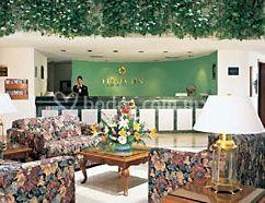 decoración del lobby del hotel