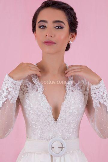 Vestido princesa Mildret