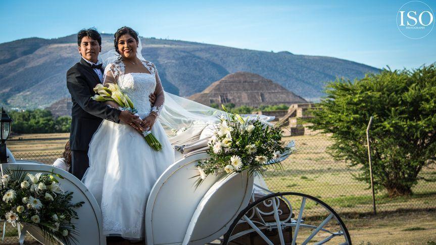 Boda en Teotihuacán