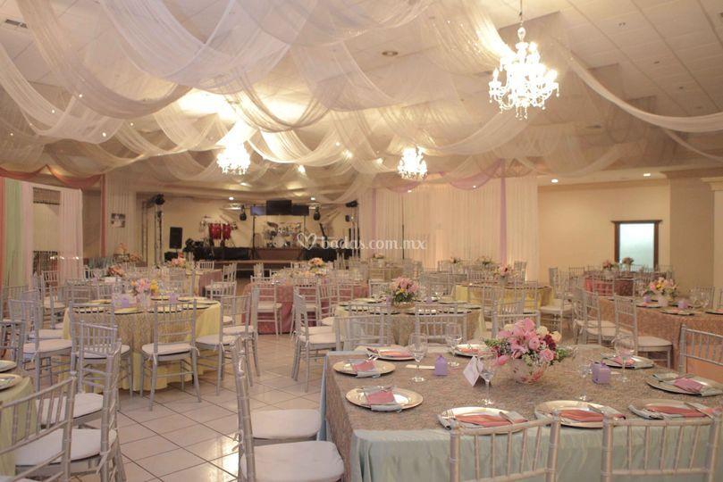 decoración vintage de salón marsay | foto 15