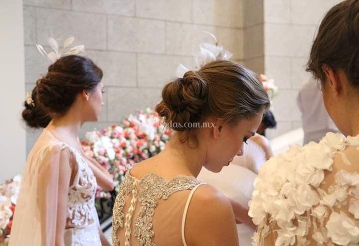 Hair look Azucena Enriquez