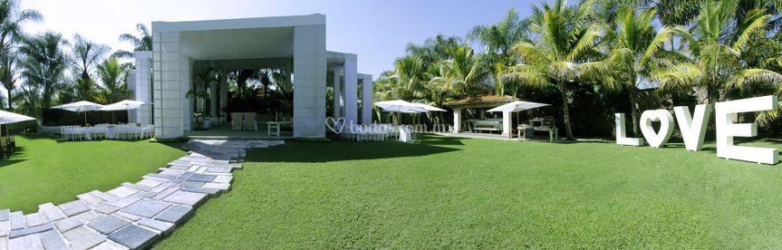 Jard n de cort s for Jardin villa xavier jiutepec