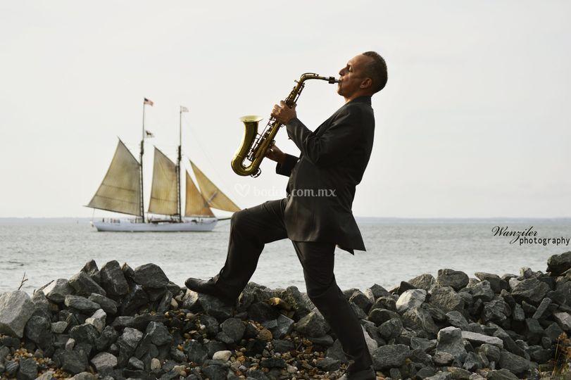 Samuel Lima Saxofonista