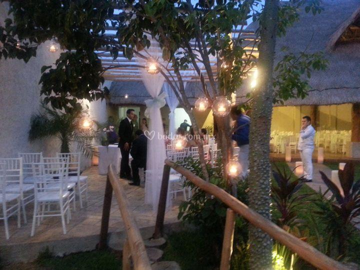 Área para boda civil