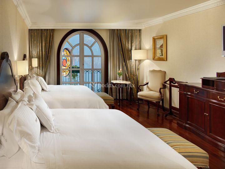 Suite doble vista terraza