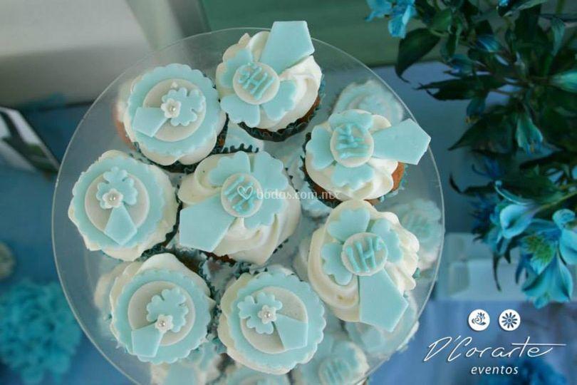 Cupcake primera comunión
