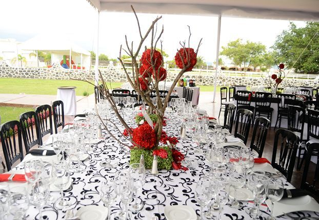 Mesa imperial de Luar  Banquetes & Alquiler