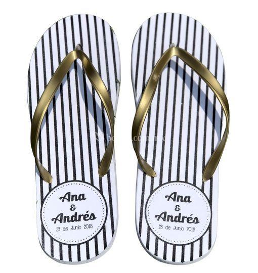 Sandalias para boda