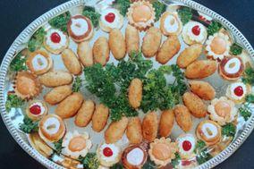 De Frijoles y Caviar Canapés