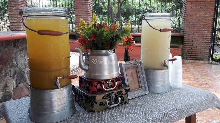 Welcome drinks Chiapa
