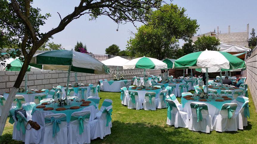Listo para su boda de el jard n de los abuelos foto 4 for Atuendo para boda en jardin