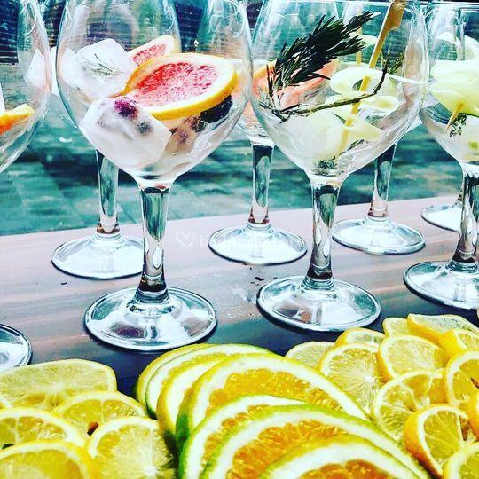 Barra de gins