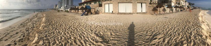 Playa y Salida del salón