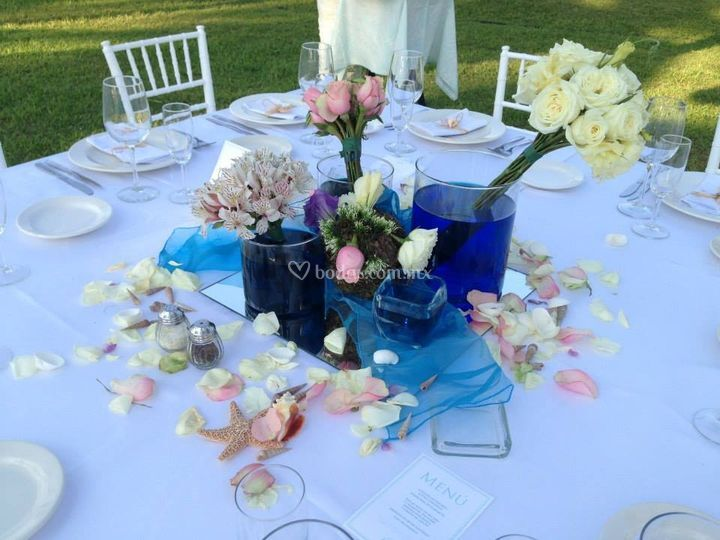Montaje de boda en P. Paraíso