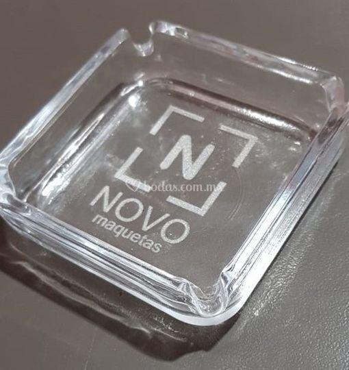 Grabado láser en vidrio