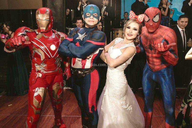 Team avengers!