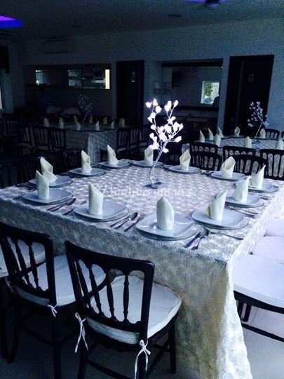 Banquete de cumpleaños