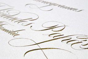 Purple Letters Weddings