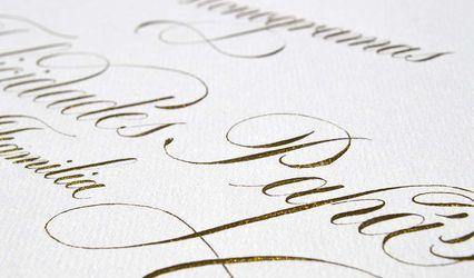 Purple Letters Weddings 1