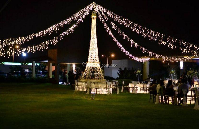 Jardín para eventos