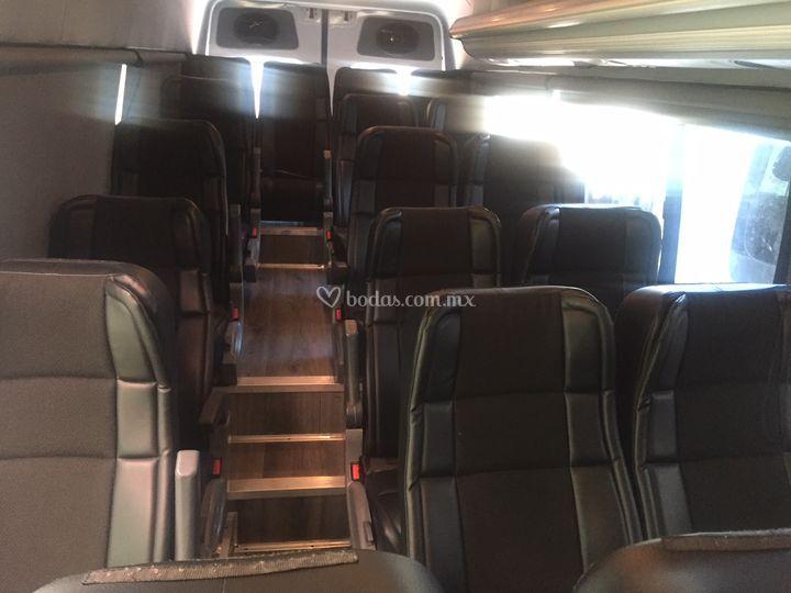 20 pasajeros