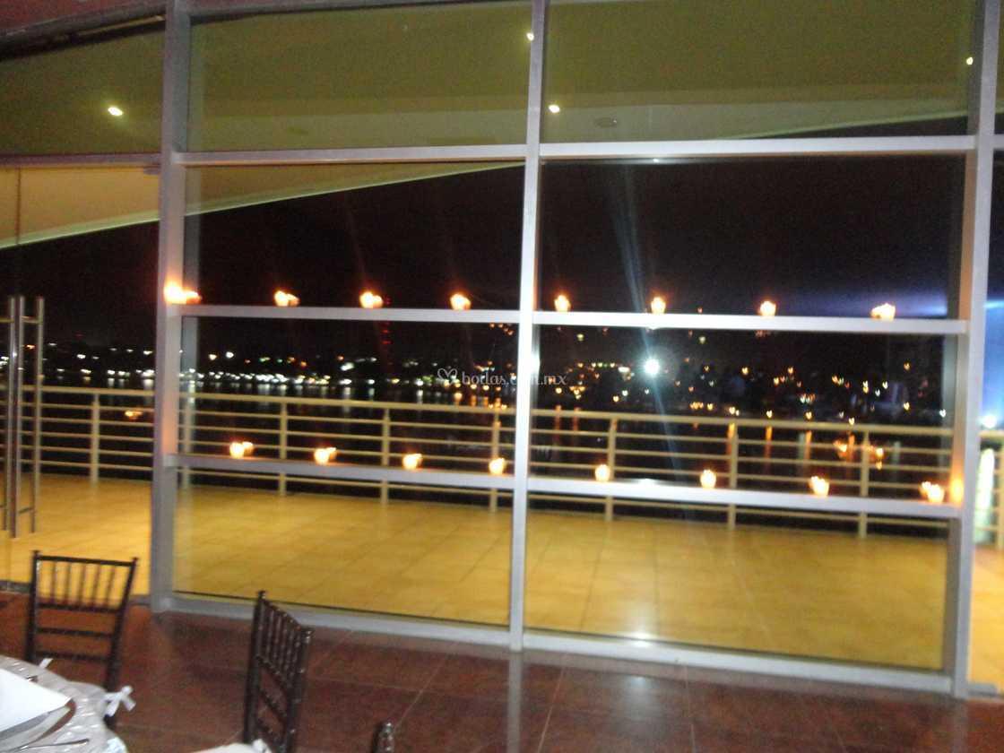 Terraza Salón Gobernador De Expo Tampico Foto 7