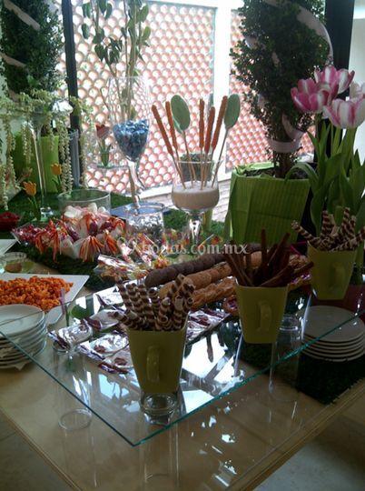 Mesa de dulces