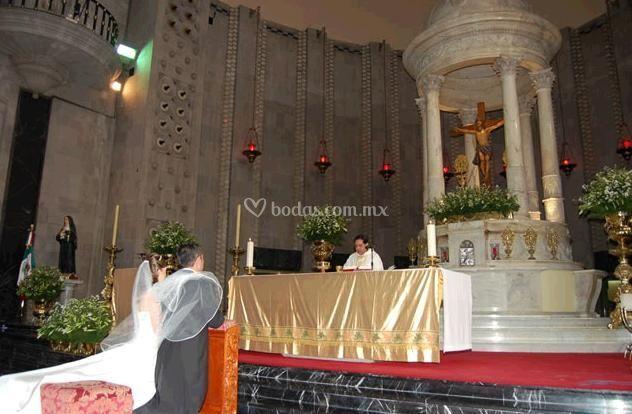 Cobertura en la Iglesia