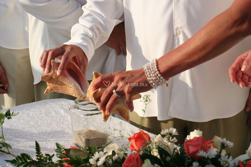 Ceremonia de arena
