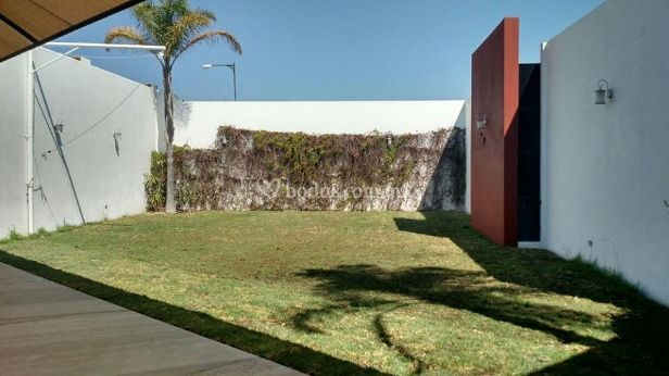 Terraza magnolias for Terrazas aire libre