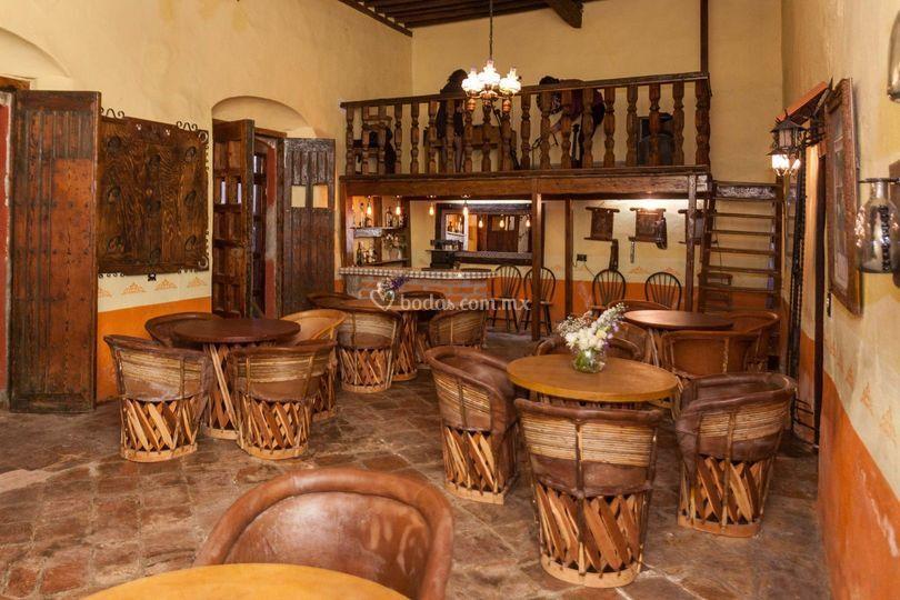Cantina de la hacienda