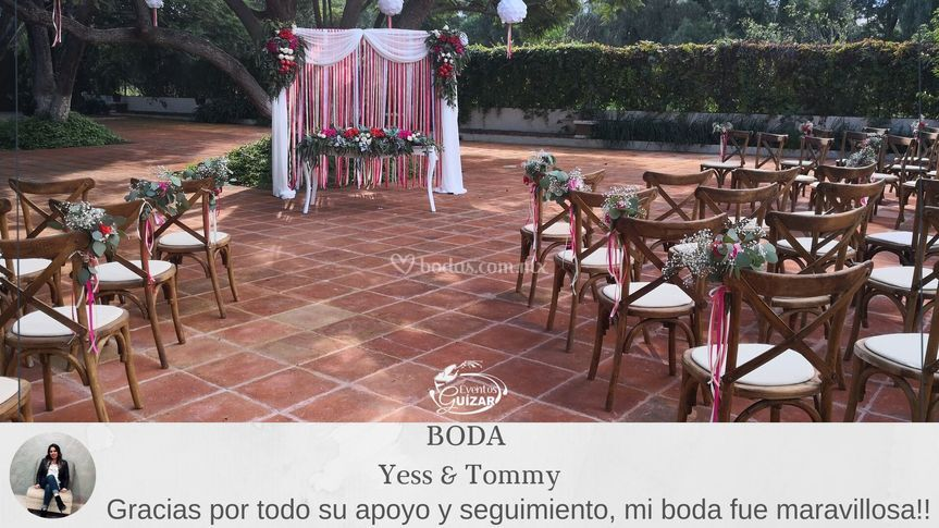 Ceremonia yess & tommy