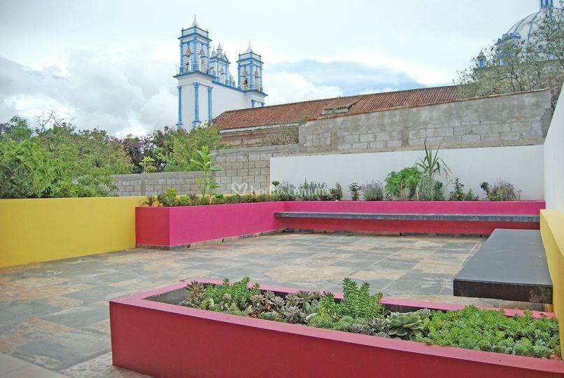Terraza salón Lemoaz
