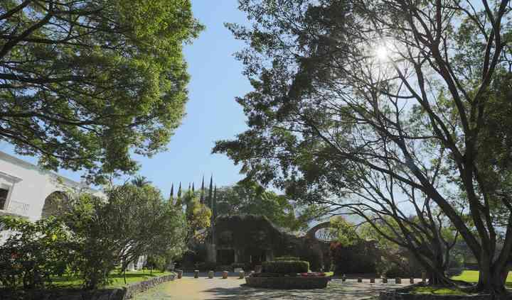 Entrada Hacienda San Gaspar