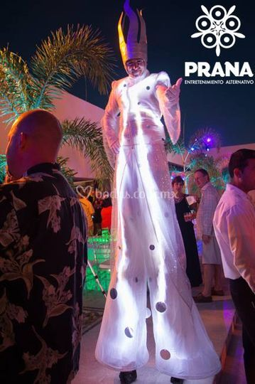 Zancos led by Prana