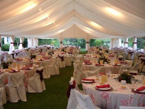 Alquiladora zavaleta - Decoracion de bodas en jardines ...