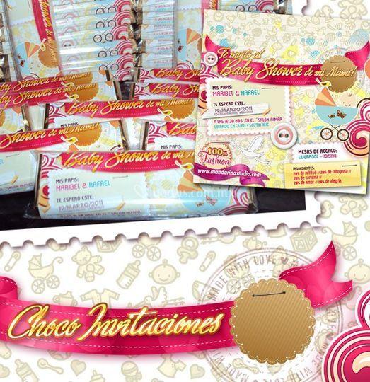 Choco-invitaciones