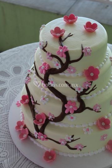 Pastel cedro rosa