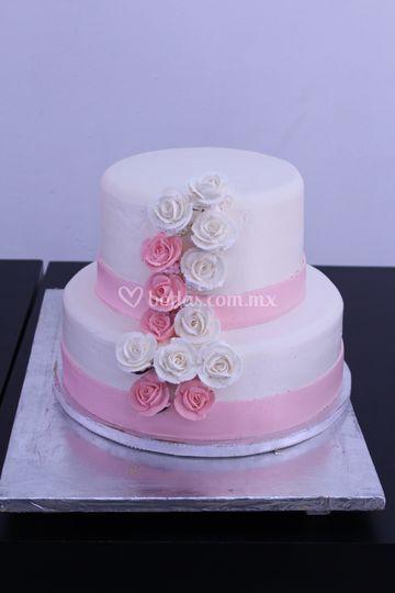 Pastel boda elegante