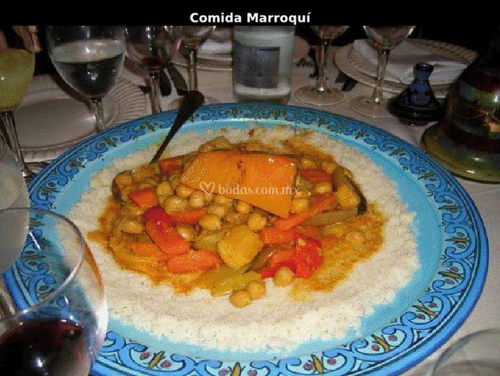 Platillo marroqui
