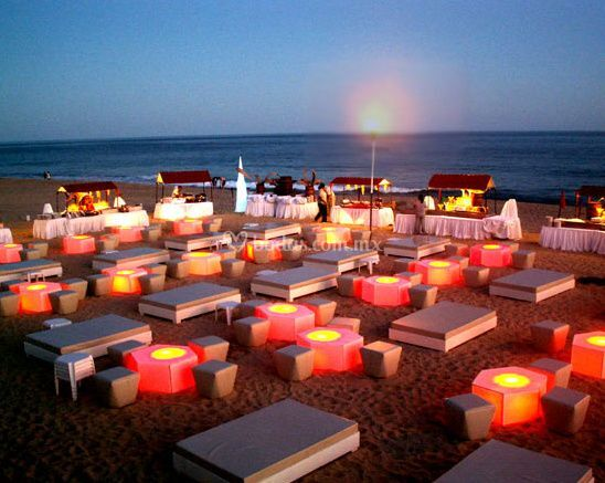 Lounge en la playa
