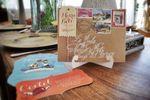 Estilo postal vintage