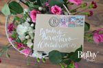 Carta postal, romántica