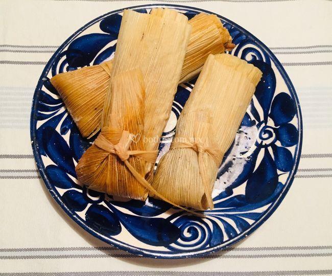 Tamales caseros